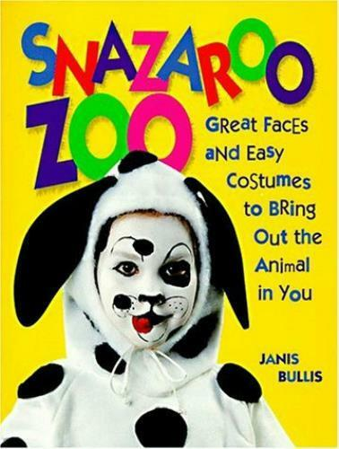 Snazaroo Zoo: Great Faces and Easy Costumes to Bring Out the Animal in You Book $19.95