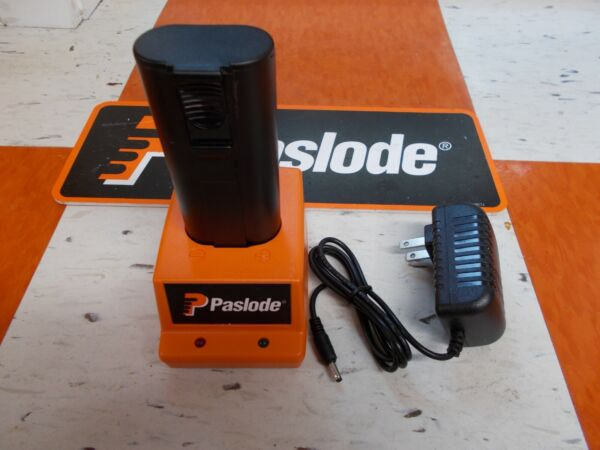 PASLODE # 900200 NICD BATTERY CHARGER + BATTERY