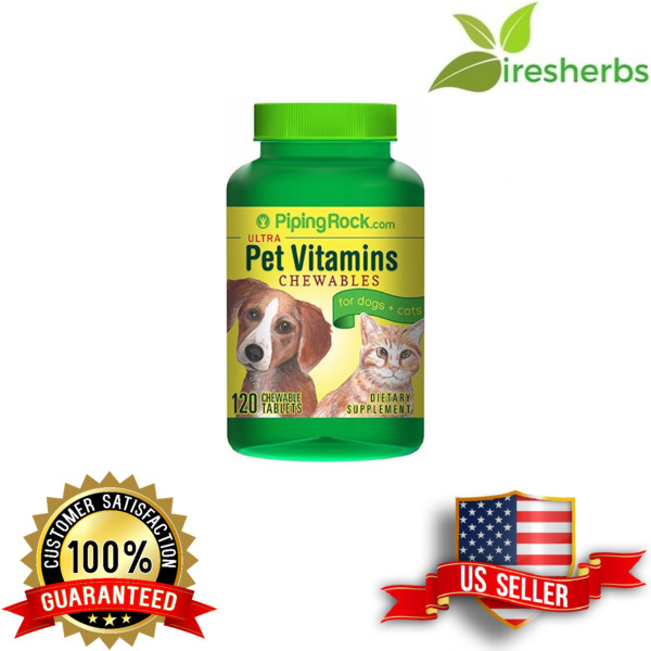 ULTRA PET VITES DOGS CATS MULTIVITAMIN PETS SUPPLEMENT VITAMINS HEALTH 120 TABS