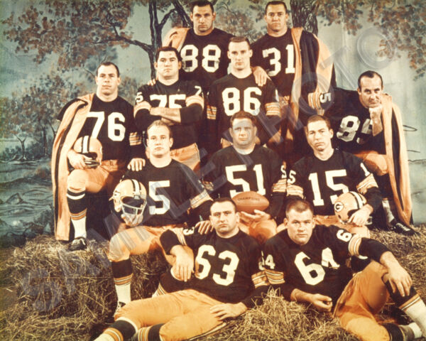 RARE 1962 GREEN BAY PACKERS NFL CHAMPIONS HAYSTACK 8X10 TEAM PHOTO