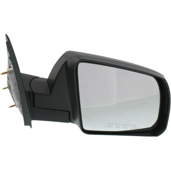Manual Mirror For 2014-2017 Toyota Tundra Right Side Textured Black