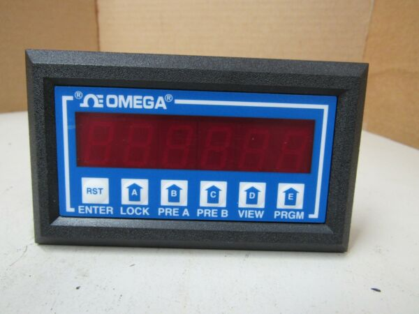 OMEGA FREQUENCY INPUT RATEMETER DP-F78-A DPF78A 110VAC