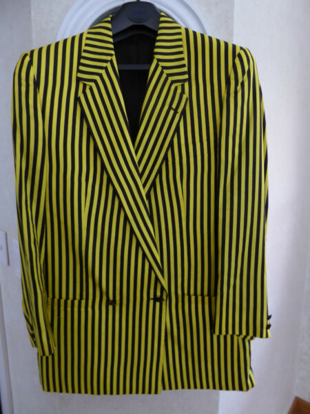 VINTAGE - GIANNI VERSACE - 1990's-  SILK BLEND - DOUBLE BREASTED JACKET - IT 48