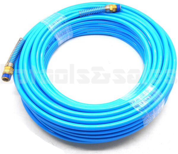 100ft x 1 4quot; Air Compressor PU Hose Roofing Framing Carpentry 1 4quot; NPT Fitting $29.90