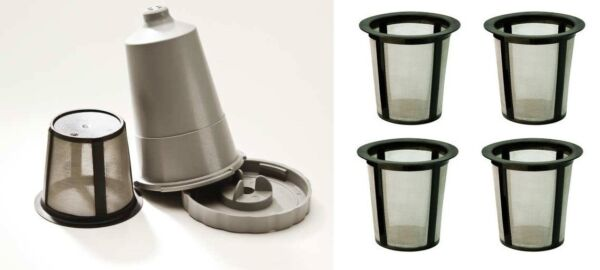 Keurig 1.0 & Mr Coffee Brewers Grey My K-Cup Holder Mesh Basket Replacement Bulk