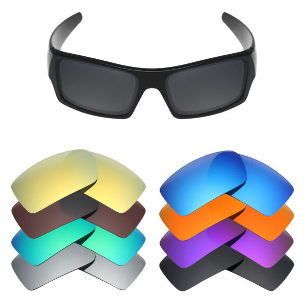 Mryok Anti Scratch Polarized Replacement Lenses for Oakley Gascan Sunglass