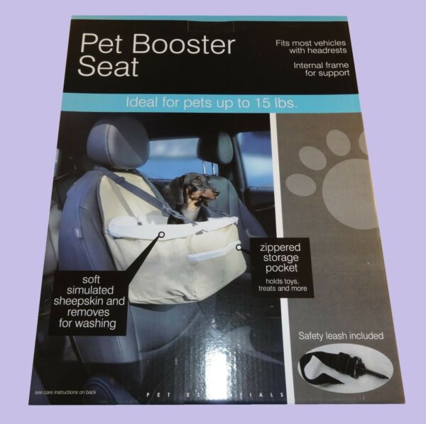 Small Dog Booster Seat Pet Seat for Car Cars $12.75
