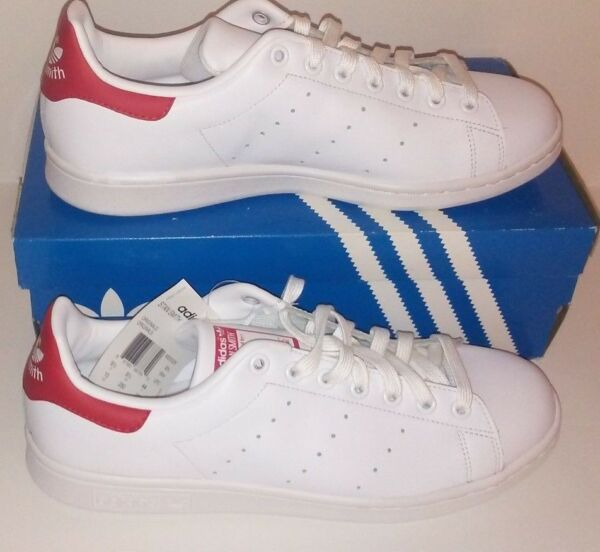 Adidas Original classic Stan Smith red/white mens sneaker/ SHOES new