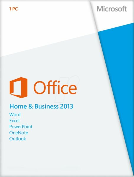 Microsoft Office Home and Business 2013 32/64 BIT FULL RETAIL ESD ORIGINALE