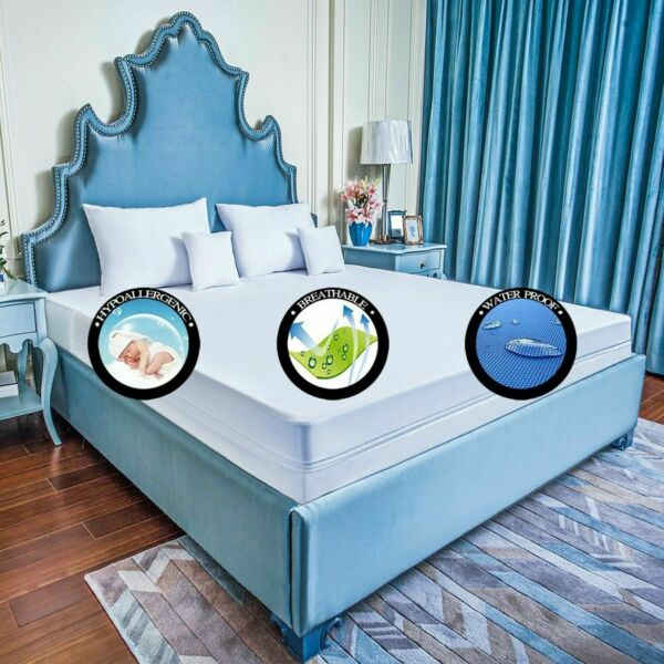 A BED BUG PROOF Encasement Protect Soft LUXURY Zipper ALL MATTRESSES or Pillow $34.41