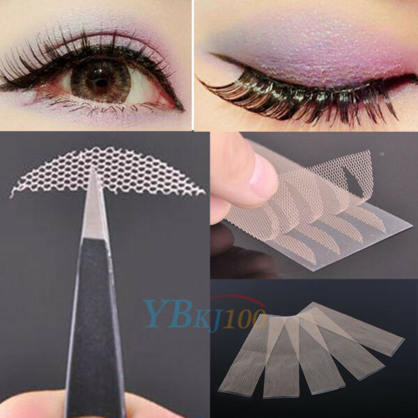 120 Pairs Invisible Lace Double Eyelid Stickers Technical Eye Talk Tape Tool