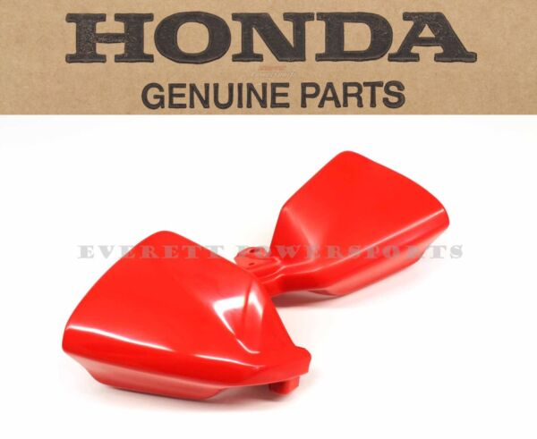 New Genuine Honda Hand Guard Set 2000 2007 XR650 R R134 Red See Notes #D49