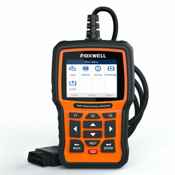 FOXWELL NT510 For BMW OBD2 Scanner Engine ABS Airbag SRS SAS EPB Reset Scan Tool