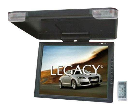 LEGACY LMR15.1 15quot; LCD TFT Car SUV TRUCK Flip Down Roof Mount Monitor TV IR $79.99