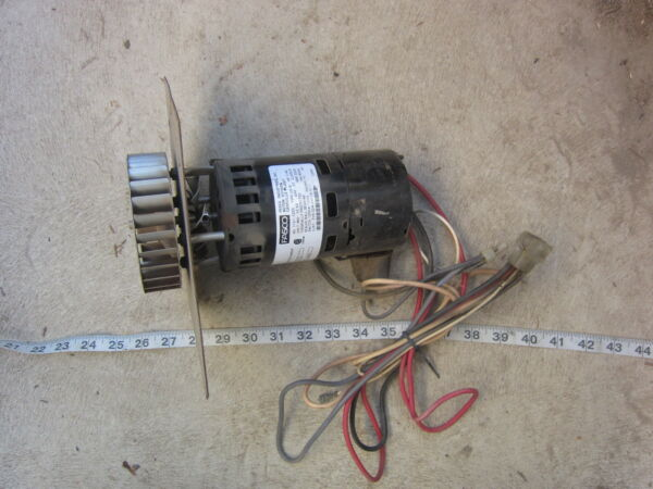 Fasco York 7121-7255 024-24115-011 460V Furnace Draft Inducer Assembly Used