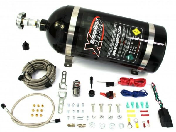 22-90000 Nitrous Outlet X-Series Universal Dry Single Nozzle Kit 35-200HP