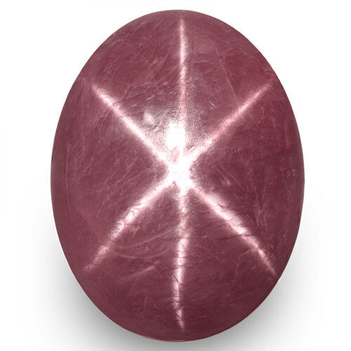 IGI Certified VIETNAM Star Ruby 8.27 Cts Natural Untreated Purple Red Oval