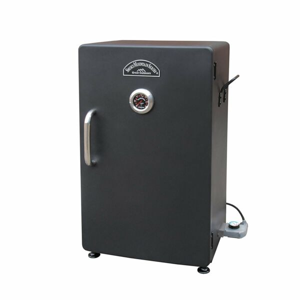 New Electric BBQ Smoker Barbecue Grill Outdoor Portable Meat Cooker Digital Rack