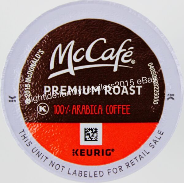 McDonalds McCafe Coffee Arabica Medium-Roast Keurig K-Cup Pods