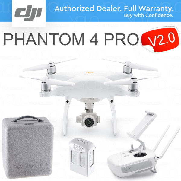 DJI PHANTOM 4 PRO DRONE with Gimbal Camera with 1