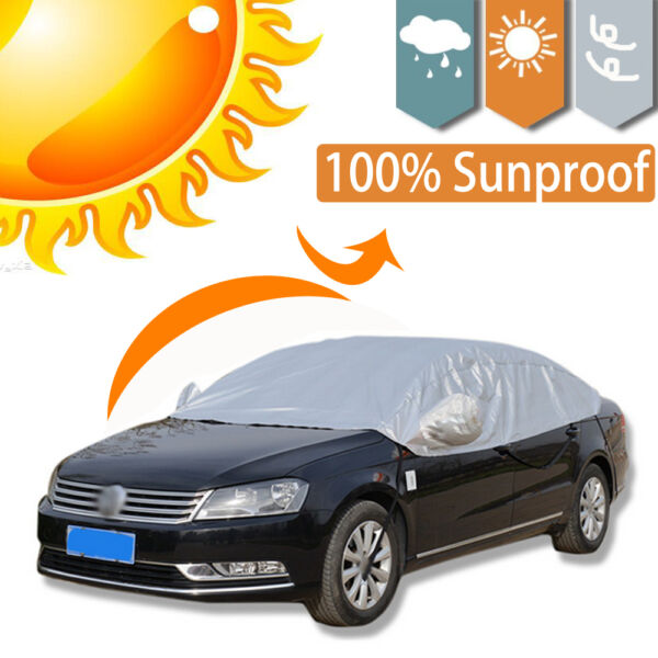 Outdoor Waterproof Anti Dust Car Cover Sun Rain Snow Resistant Part Protection