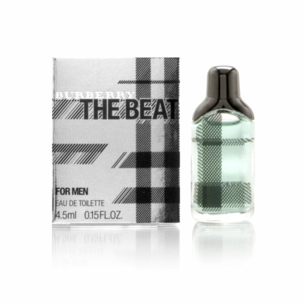 Burberry The Beat by Burberry for Men 0.15 oz EDT Mini Brand New $6.99