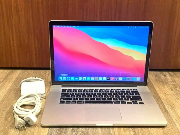 15quot; Apple MacBook Pro 1TB SSD Hybrid 8GB RAM Pre Retina OSx 2015 3 YEAR WARRANTY
