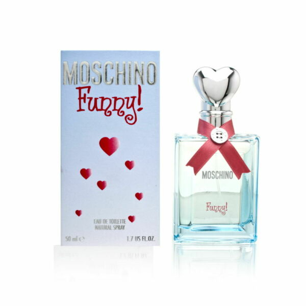 Moschino Funny by Moschino for Women 1.7 oz EDT Spray Brand New $23.90
