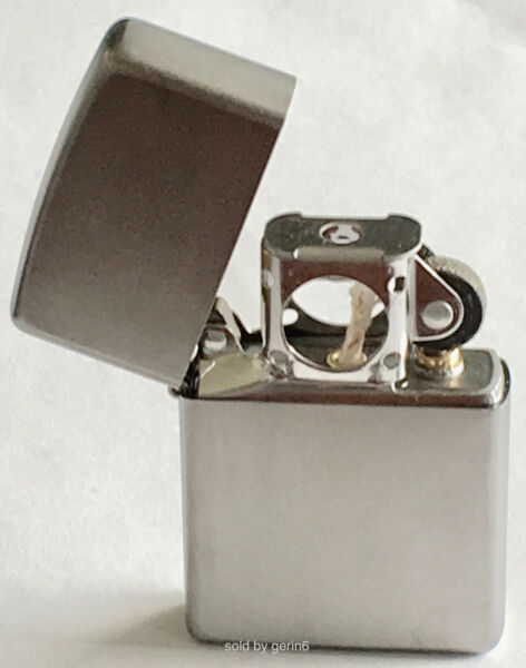 Zippo Windproof Satin Chrome Lighter With Pipe Insert 205 Pipe New In Box $14.55