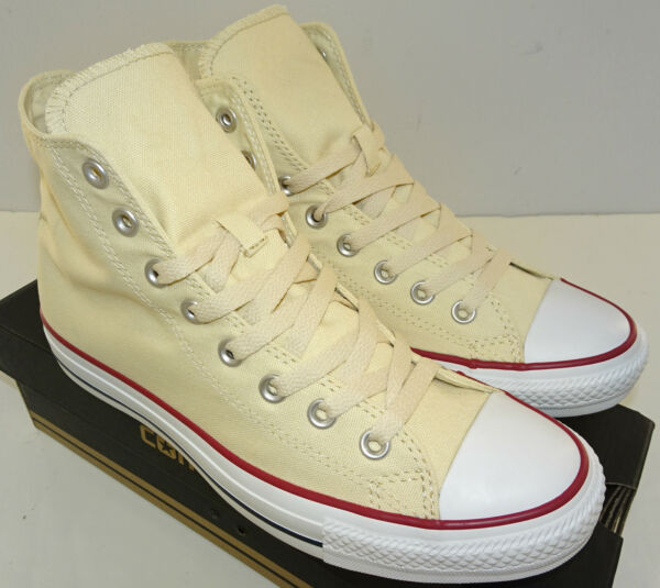 CONVERSE Chuck Taylor All Star Hi Sneaker X9162 Unbleached White Size 11.5-17