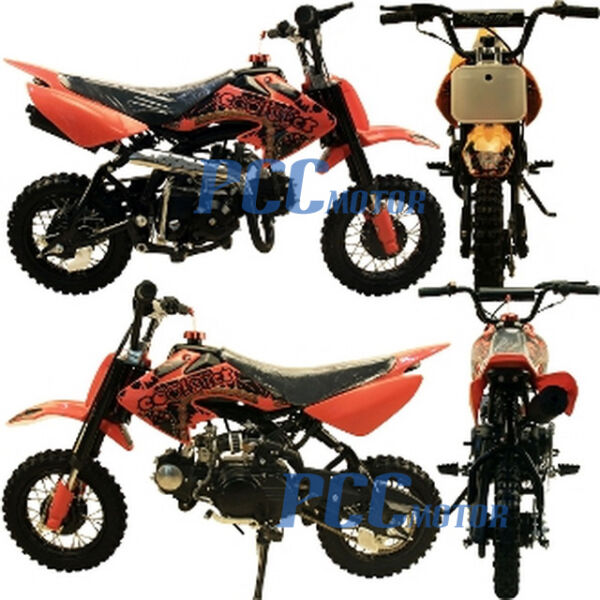 Coolster New 70cc Kids 4 Stroke CRF Style Dirt Bike DB70 RED $599.99