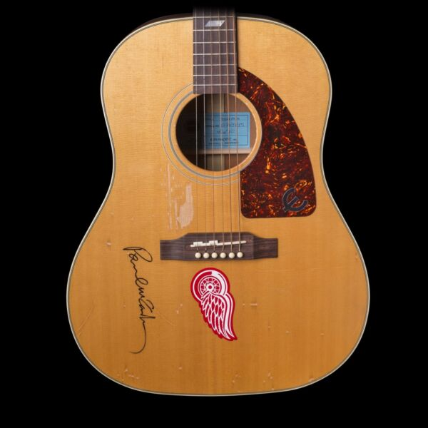 Epiphone USA LTD ED Texan 40 of 40 Produced and Signed by Paul McCartney