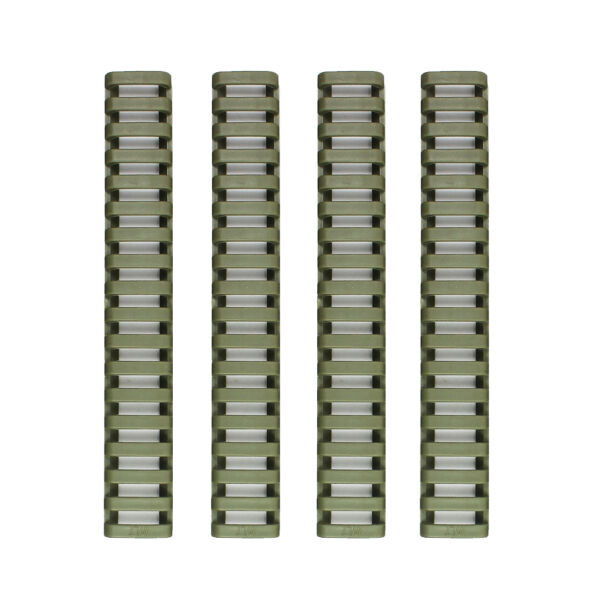 4 Heat Resistant Rifle Weaver Picatinny Ladder Rail Cover OD GREEN $5.70