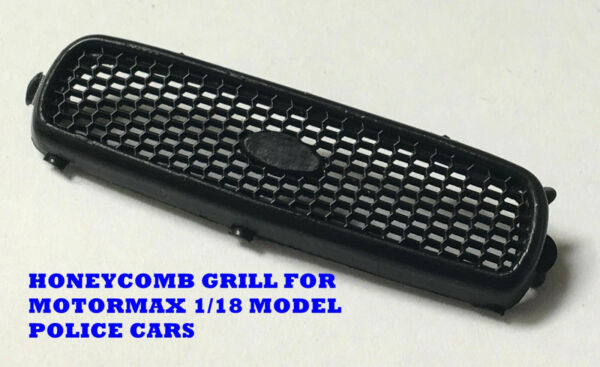1 18 Honeycomb Grill For Motormax Ford Crown Vic Police Cars CH 1911B