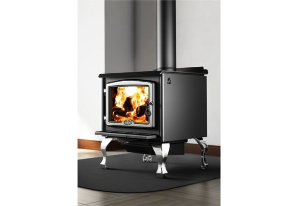 Osburn 2300 Free Standing Wood Stove with blower Legs or pedestal modern simple