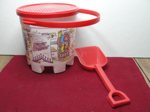 MCDONALDS HAPPY MEAL BEACH PAIL AND SHOVEL