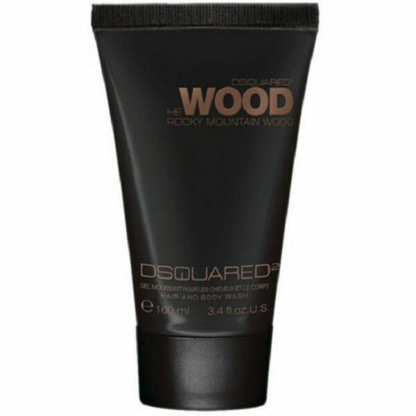 DSquared2 He Wood Rocky Mountain for Men Hair amp; Body Wash 3.4 oz New amp; Fresh $9.97