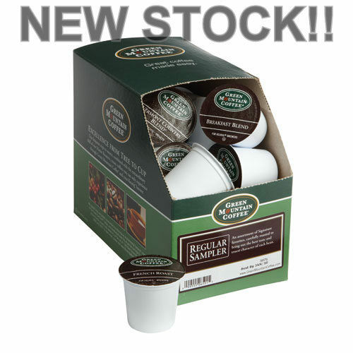88 Count Kcups Green Mountain 'REGULAR VARIETY PACK' - FRESH!! New Stock!!