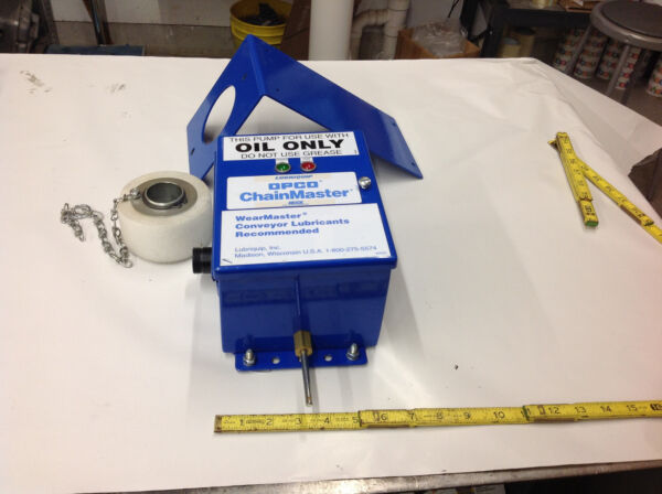 Opco Chainmaster Lube Pail Tank Supply Controller. NEW NO BOX OR MANUALS.