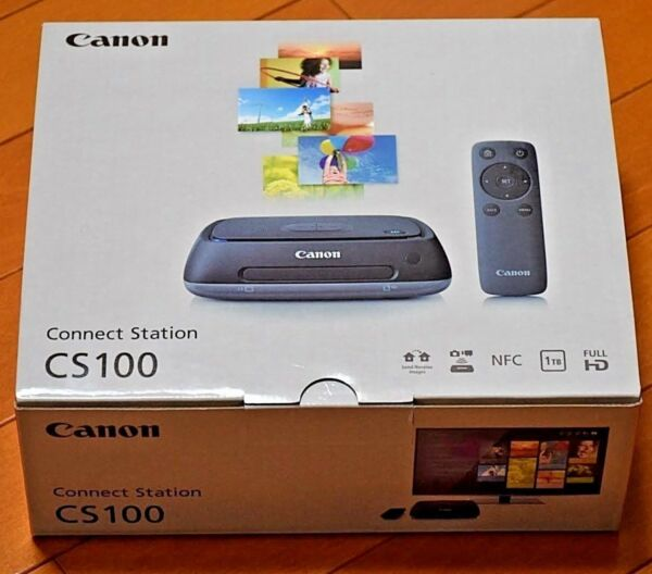 Canon Connect Station CS100 Wireless WiFi 1TB - Brand New - Fast Free shipping