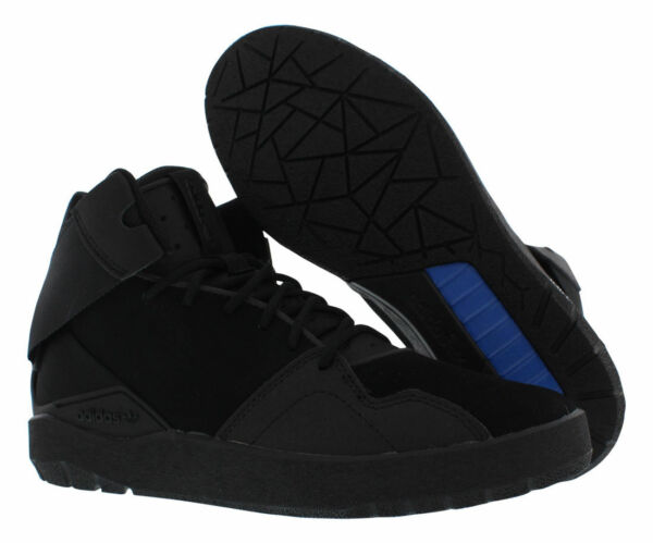 ADIDAS Originals Crestwood  Mid-top all BLACK basketball sneakers shoes