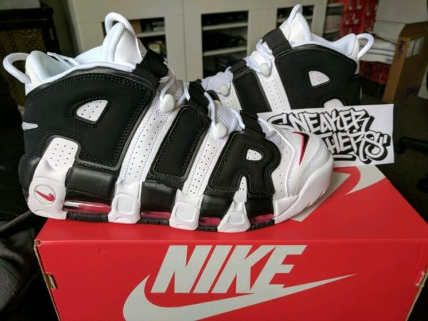 Nike Air More Uptempo Scottie Pippen White Black Varsity Red 2017 PE 414962-105