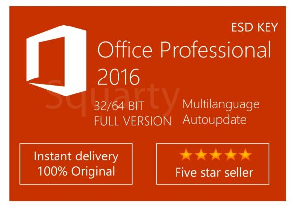 License / Licenza Microsoft Office Professional 2016