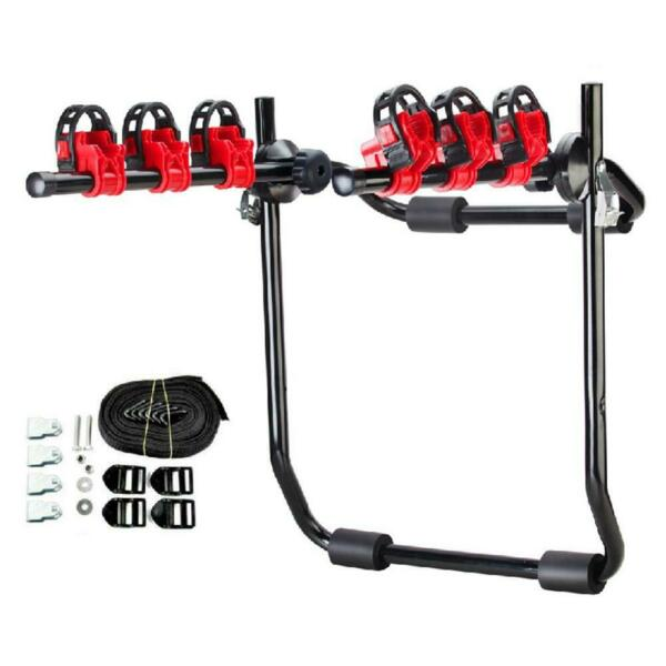 3 Bike Rack Hitch Mount Hatchback SUV Car Bicycle Cycling Carrier Truck Racks $45.99