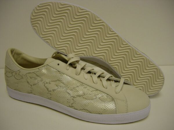 NEW Mens ADIDAS Rod Laver Vin 919748 Ecru Bone Snakeskin 2008 DS Sneakers Shoes