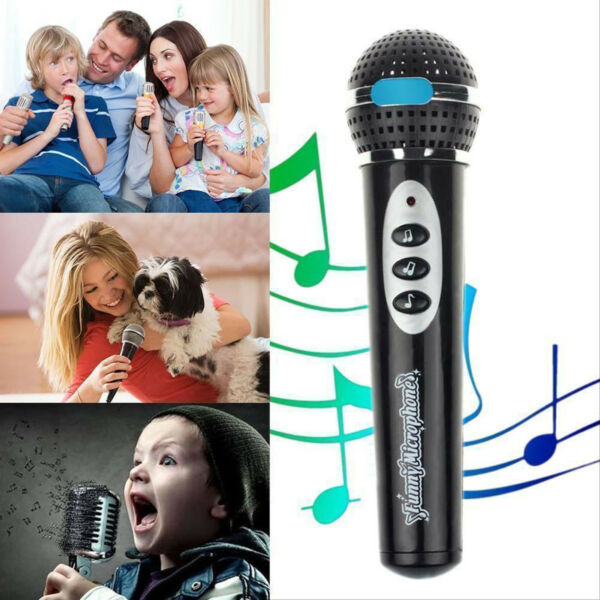 Creative Kids Boys Girls Microphone Mic Karaoke Singing Music Toys Gift FastShip