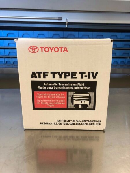 GENUINE TOYOTA LEXUS T-IV Automatic Transmission Fluid 6 PACK CASE 00279-000T4