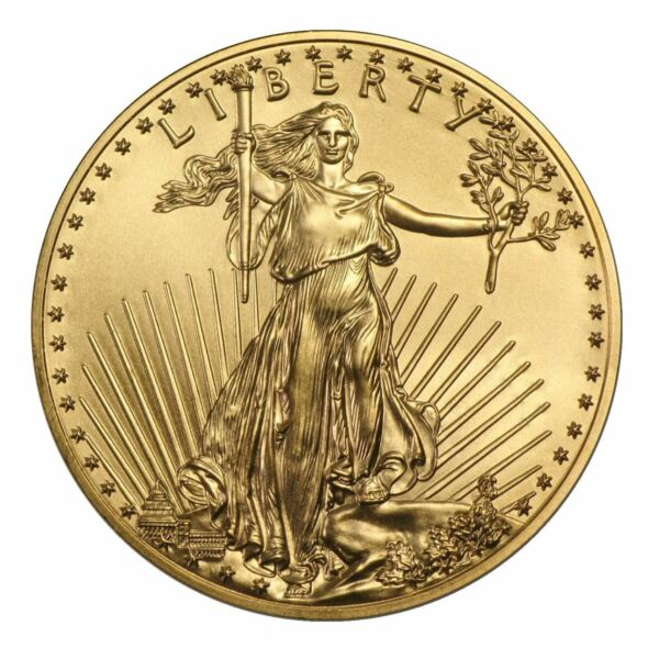 1 oz Gold American Eagle  Random Date US Mint Coin