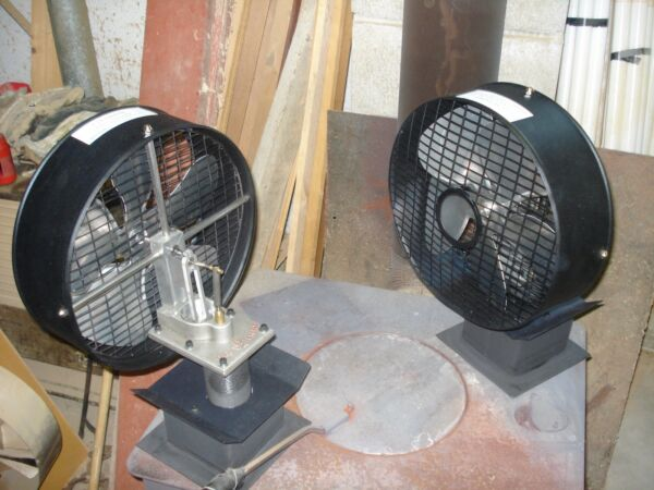 Stirling Engine Woodstove Fan