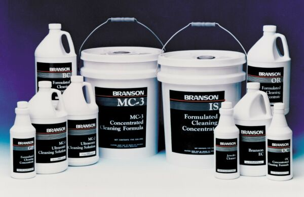 Branson AQUEOUS MC 3 Liquid Metal Cleaner for Ultrasonic Cleaners Pail of 5 Gal